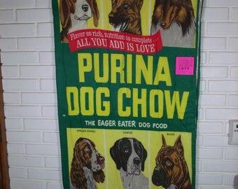 1970's Purina Dog Chow Promotional Sleeping Bag