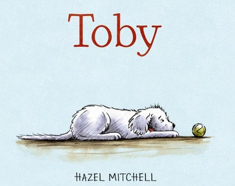 TOBY - Signed hardcover book