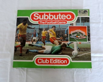 Subbuteo Club Edition, Club Italia 1989, vintage football game, table soccer