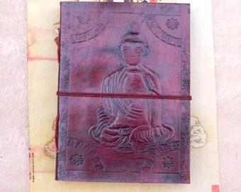 Buddha Leather Journal Notebook