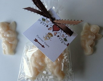 10 Cupid Soap Favors, 20 Soaps, Love, Engagements, Weddings, Special Occasions, Vintage