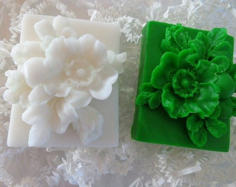 Camellia Flower Soap Bar, Soap Gifts, Special Occasions, Gift Soap
