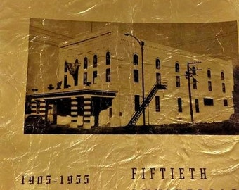 nebraska City fraternal order of eagles 1905-1955 Fiftieth Anniversary book