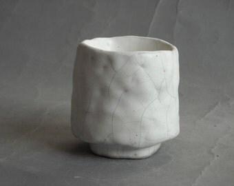 guinomi Qader tea bowl Tea Cup yunomi handmade ceramic Tea Cup