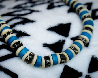 Africa Inspired Handmade Stone Necklace