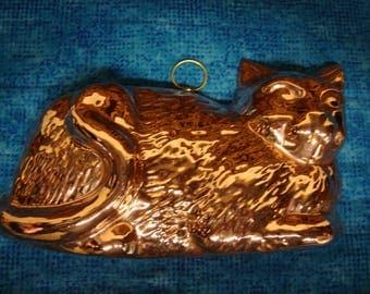 Copper Cat Mold