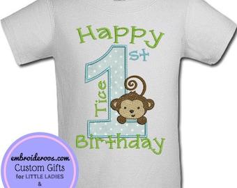 Happy Birthday Monkey Tail