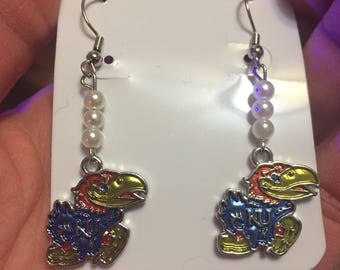 Kansas Jayhawks Earrings