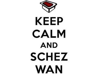 Keep Calm and Schezwan Tee!!!
