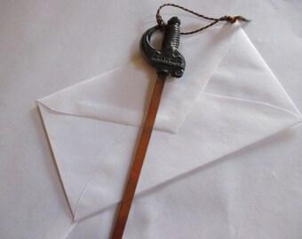 Vintage Washington D C sword letter opener desk office accessory