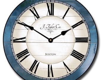 Carolina Blue Wall Clock