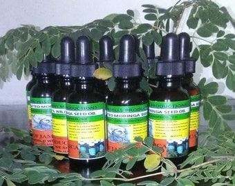 Moringa Seed Oil organic and wild crafted 100%