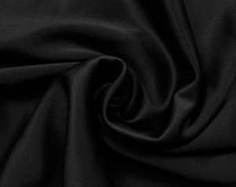 Black Spand-Tek Compression Wicking Neoprene Fabric by the Yard - Style 3058