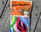 """Vintage Goody Brand Hair Doodles 10 Ties 10 Different Colors 42"""" 1975 Long Vintage Hair Supply Vintage NOS Accessory"""