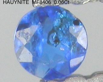 HAUYNITE ULTRA RARE Gemstone Specimen  0.06Ct  MF8406