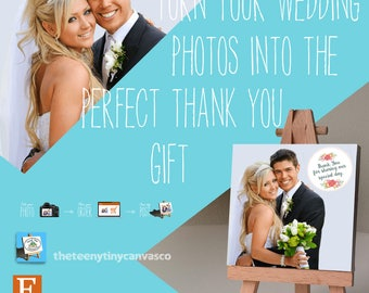 Wedding Gifts - Beautiful Personalised Photo Printing - Thank You, Favours, Place Settings - Perfect Little Gifts ...