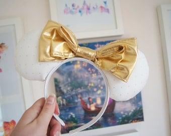 Gold Studded Ears