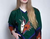 Vintage Throwback Phoenix Coyotes Hockey Jersey