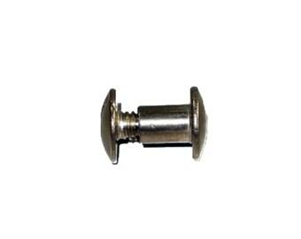 "1/4"" Chicago Screw Post (0.6 cm) Stainless Steel 100pk"