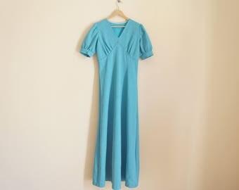 Vintage Maxi Glitter Dress