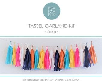 DIY Tassel Garland Kit   Salsa