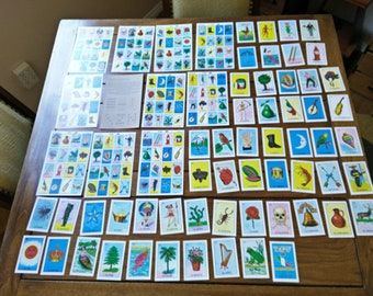 NEW traditional loteria fiesta birthday DIY wedding craft Mexican game cards Quinceañera Father's day fiesta party mixed media art supply