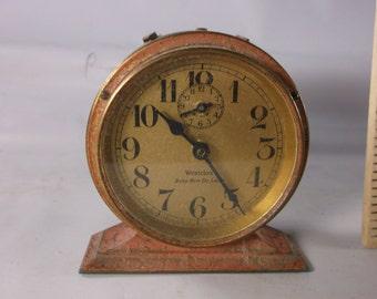 Vintage Westclox Baby Ben Deluxe Alarm Clock Pat'd 1927 In Great Condition.epsteam
