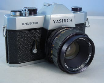 Yashica TL Electro with Yashinon-DS 50mm f/1.9 lens