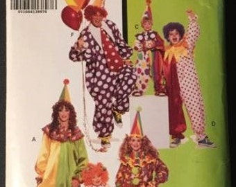 Butterick Clown Costume Pattern #6302