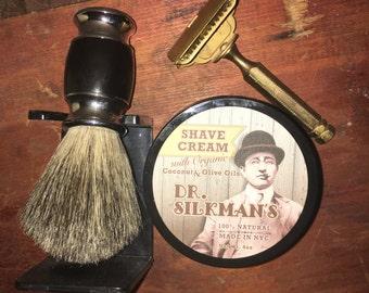 Organic Shaving Cream- All Natural, Handmade