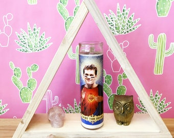 Saint Tom Brady // Patriots Football Prayer Candle