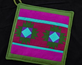 Mini Quilt   Potholder