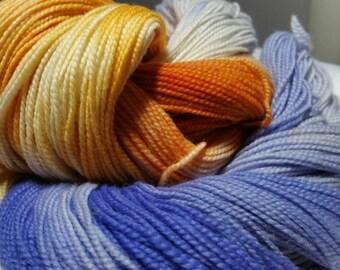 Dwarf Lake Iris, Michigan State Wildflower, State Wildflower Series, Hand Dyed Merino Sock Yarn