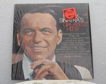 """Frank Sinatra - """"Frank Sinatra's Greatest Hits"""" vinyl record"""