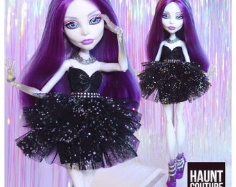 """Monster Doll Haunt Couture 2017 """"Apparition"""" ever after high fashion doll clothes dress"""