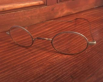 Antique Reading Glasses, Wire Reading Glasses, Spectacles