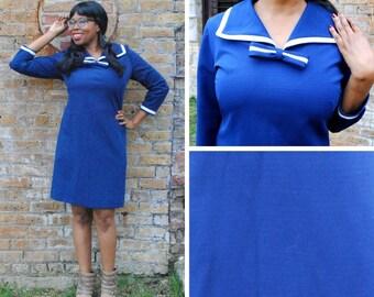 Plus Size Nautical Sailor Dress