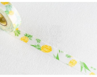 Watercolor Pineapple Washi Tape - PJMT 155047