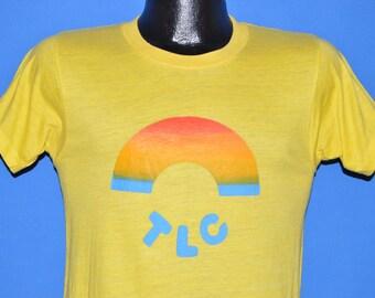 ON SALE 70s Tender Loving Care Rainbow t-shirt Small