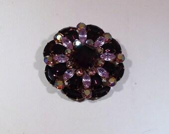 Beautiful Purple Brooch