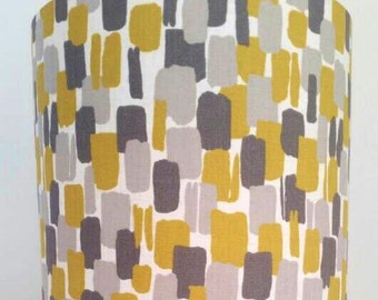 Sundowner Chartreuse Fabric Lampshade