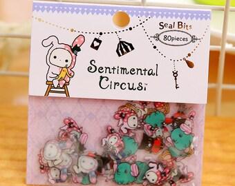 Sentimental Circus Flake Stickers ST6003SSFS