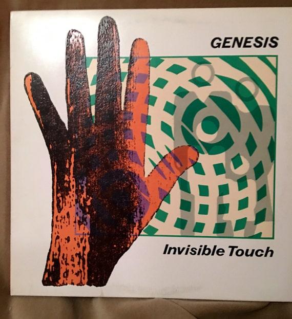 Vintage Vinyl Record LP album Genisis Invisible Touch 80's classic