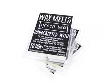 Green Tea - Soy Wax Melts - Vegan Candle Tarts