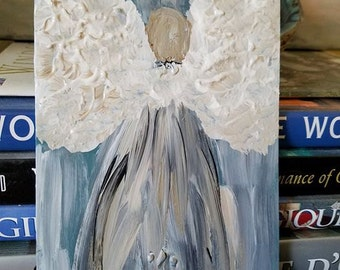 Winged Angel Painting