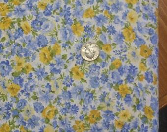 Summer Breeze Moda Fabrics Sentimental Studios Floral Fabric One Yard/ Half Yard Cuts