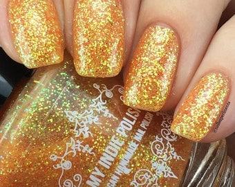 Sunsets at Bluffers Park - Texture Glitter nail polish - Vegan 15ml