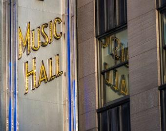 Radio City Music Hall - New York City Architecture // Fine Art Photography // Giclée Photo Print
