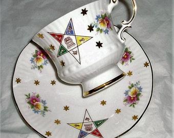 Vintage Elizabethan , Elizabethan teacup , pattern 1419 , vintage fine china , floral teacup , collectable teacup , Elizabethan china , cup