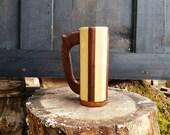 1613 - Walnut and Maple body, Walnut base and handle
